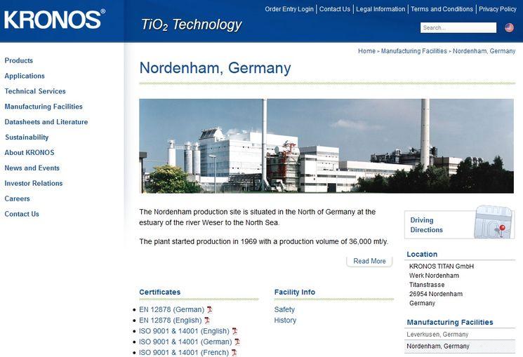 Новые технологии производства диоксида титана