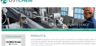 OSTCHEM Holding AG в Украине