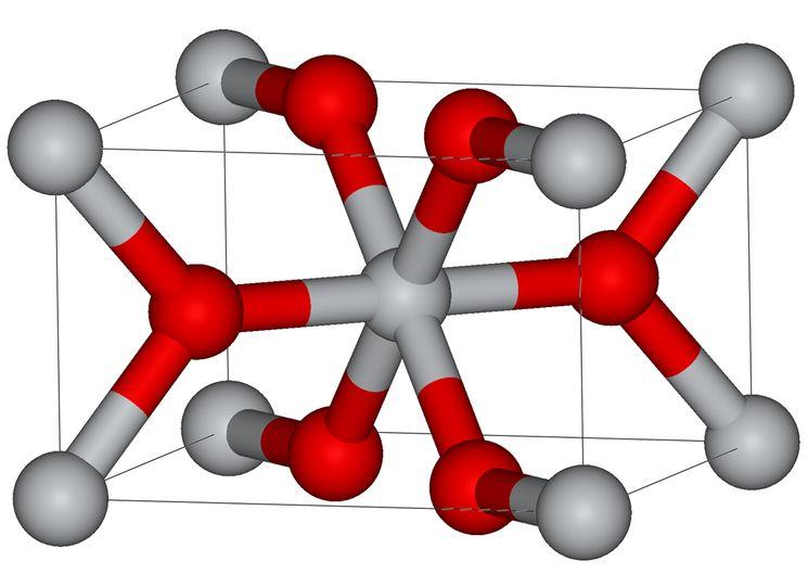 Молекулярная модель рутила