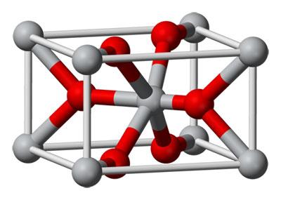 Диоксид титана в рутильной форме